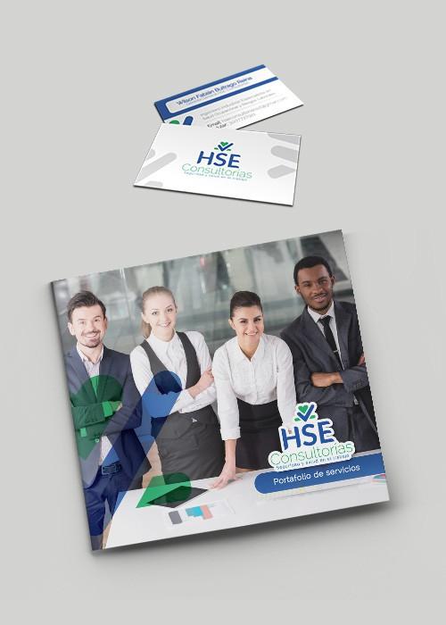 Diseño de branding Hse consultorías