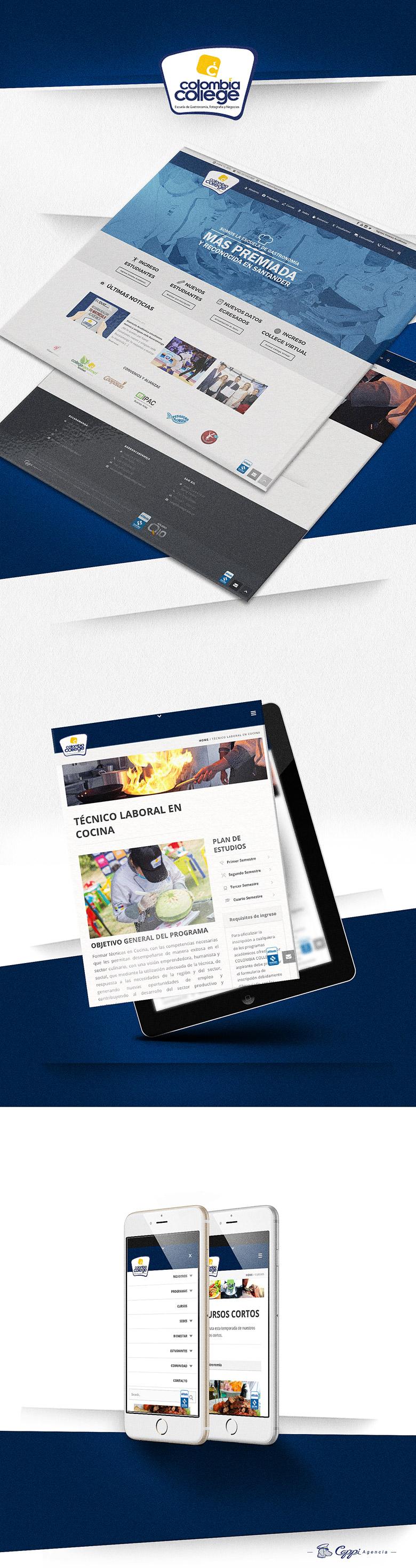 PAGINA WEB COLOMBIA COLLEGE